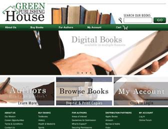 greenpublishinghouse.com screenshot