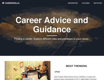 careerszilla.com screenshot