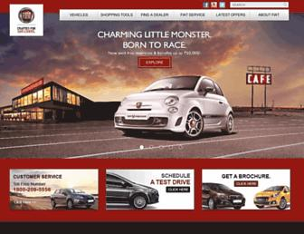 Thumbshot of Fiat-india.com