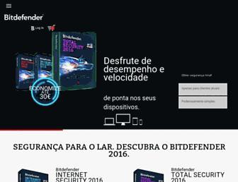 bitdefender.pt screenshot