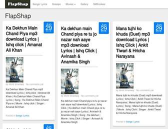 flapshap.com screenshot