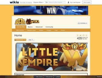 littleempire.wikia.com screenshot