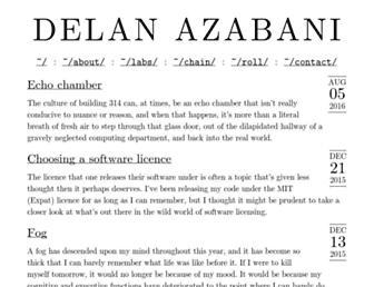 azabani.com screenshot