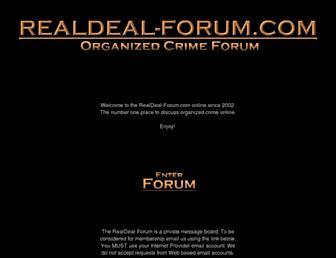realdeal-forum.com screenshot