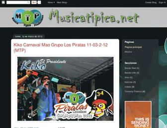 musicatipicanet.blogspot.com screenshot