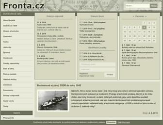 Thumbshot of Fronta.cz