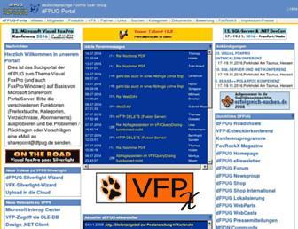portal.dfpug.de screenshot