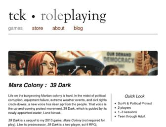 tckroleplaying.com screenshot