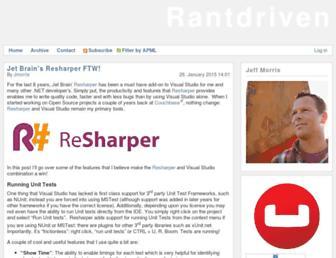 rantdriven.com screenshot