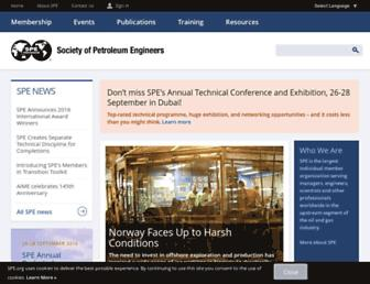 spe.org screenshot