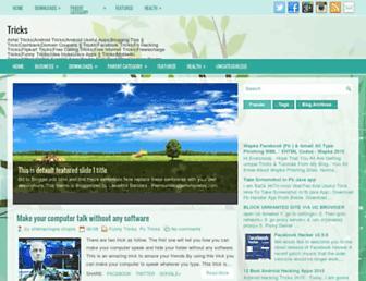 trickcreater.blogspot.com screenshot