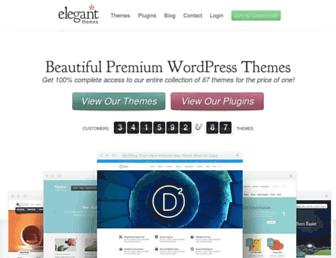 elegantthemes.com screenshot