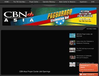 cbnasia.org screenshot