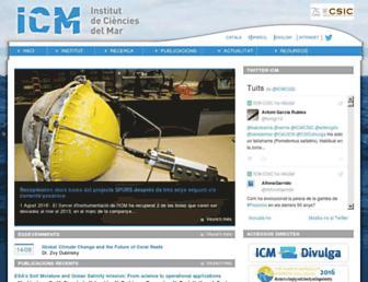 icm.csic.es screenshot