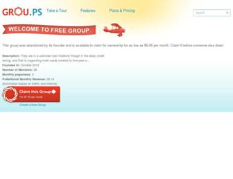 mortgage-loans-bad-credit.grou.ps screenshot