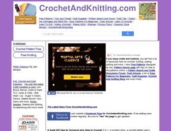 crochetandknitting.com screenshot