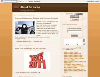 aboutsrilanka.blogspot.com screenshot