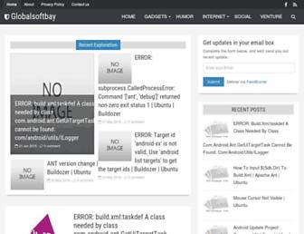 globalsoftbay.blogspot.com screenshot