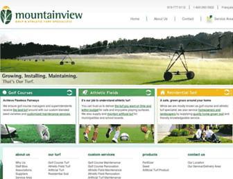 mountainviewturf.com screenshot