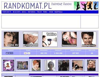 randkomat.pl screenshot