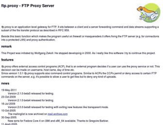 ftpproxy.org screenshot