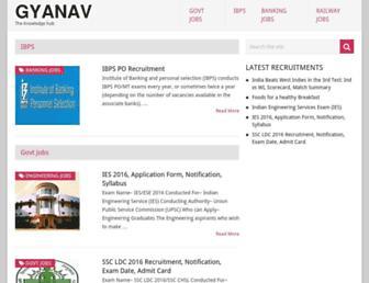 gyanav.com screenshot