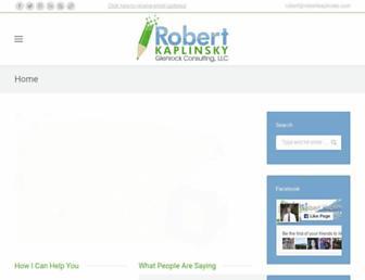 robertkaplinsky.com screenshot