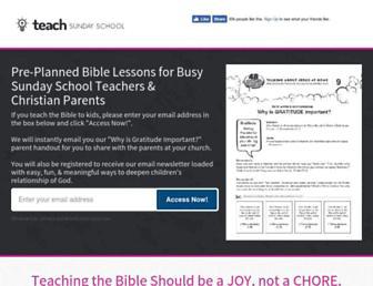 Thumbshot of Teachsundayschool.com