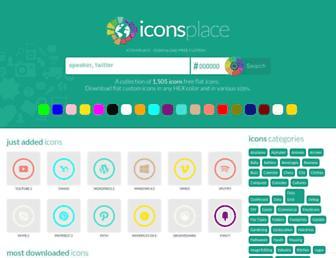 iconsplace.com screenshot