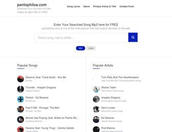 pantophilus.com screenshot
