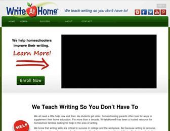 Thumbshot of Writeathome.com