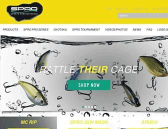 spro.com screenshot