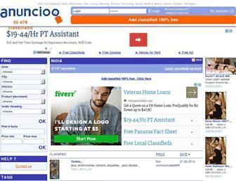 in.anuncioo.com screenshot
