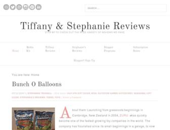 Thumbshot of Tiffanyreviews.com