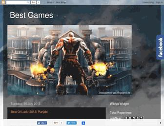 bestgames321.blogspot.com screenshot