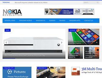 nokiarevolution.com screenshot