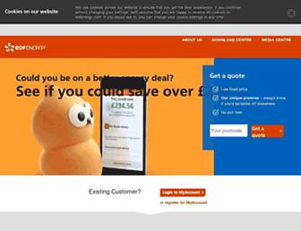 Thumbshot of Edfenergy.com