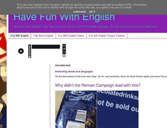 Thumbshot of Fun-with-english.co.uk