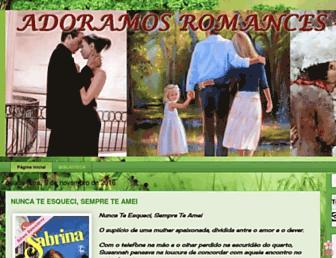 adoramosromances-super.blogspot.com screenshot