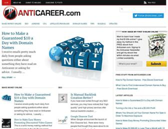 Thumbshot of Anticareer.com