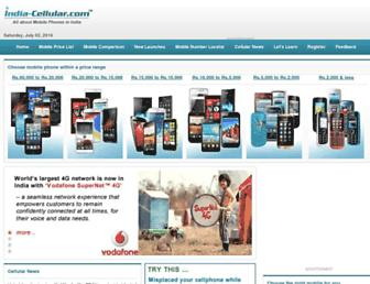 Thumbshot of India-cellular.com