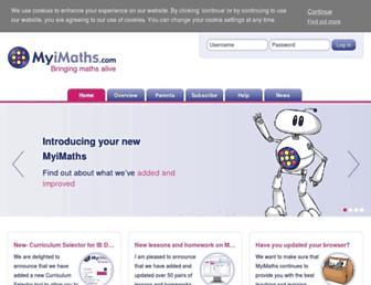 Thumbshot of Myimaths.com