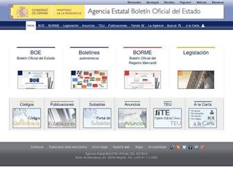 boe.es screenshot