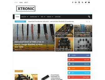xtronic.org screenshot