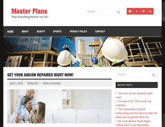 masterplans.info screenshot