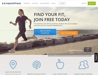 Thumbshot of Mapmyfitness.com