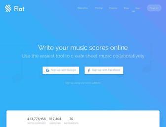 flat.io screenshot