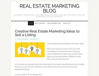 realestatemarketingblog.org screenshot