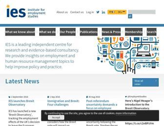 employment-studies.co.uk screenshot