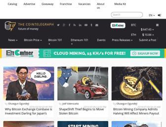 cointelegraph.com screenshot